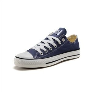 Converse Shoes | Womens Blue Low Tops